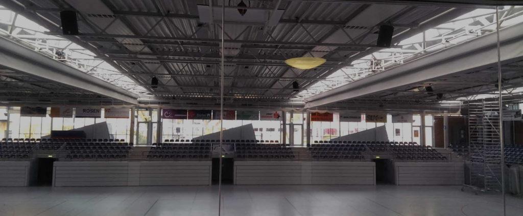 beschallung fuer sporthallen