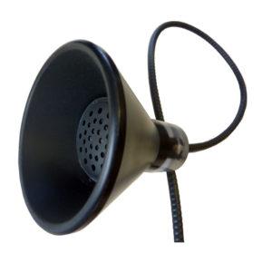 einhandhoerer musephone TRI schwarz